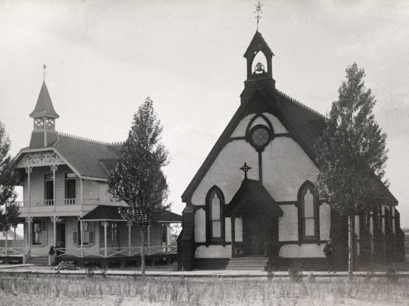St. Andrew's by-the-Sea Anglican Church, Lakeshore Ave., Centre Island